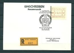 Oostenrijk, 29/10/1989  25 Jahre ABSV Philatelistischer Salon  -  TROFAIACH  (GA9800) - Sapeurs-Pompiers