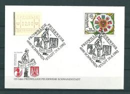Oostenrijk, 26/06/1992 Freiwillige Feuerwehr  -  SCHWANEN (GA9803) - Sapeurs-Pompiers