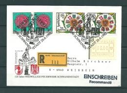 Oostenrijk, 26/06/1992 Freiwillige Feuerwehr  -  SCHWANEN (GA9804) - Brandweer
