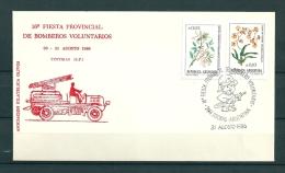 ARGENTINA, 31/08/1986 16 Fiesta Provincial De Bomberos Voluntarios - TOTORAS  (GA9807) - Brandweer