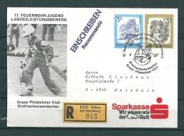 OOSTENRIJK, 18/07/1987 Feuerwehr-Jugend Landesleistungsbewerb  -  HARTBERG  (GA9831) - Brandweer