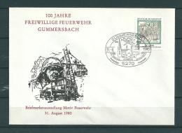 DUITSLAND, 31/08/1980 100 Jahre Freiwillige Feuerwehr  - GUMMERSBACH  (GA9834) - Brandweer