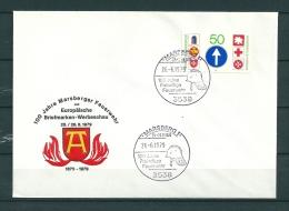 DUITSLAND, 26/06/1979 100 Jahre Freiwillige Feuerwehr  -  MARSBERG  (GA9842) - Brandweer