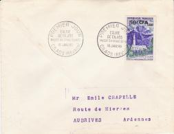 REUNION- LETTRE AFFRANCHIE N° 361 - ANNEE 1960 - Reunion Island (1852-1975)