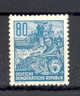 Allemagne DDR Yvert 161* Agriculture Mossonneuse-batteuse - [6] République Démocratique