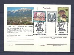 OOSTENRIJK, 06/06/1996  100 Jahre Briefmarken Werbeschau  -  NIEDERABSDORF  (GA9960) - Sapeurs-Pompiers