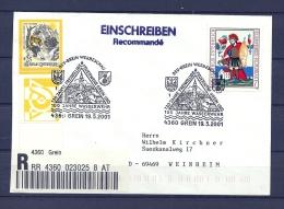 OOSTENRIJK, 19/05/2001 130 Jahre Freiwillige Feuerwehr   -  GREIN  (GA9963) - Sapeurs-Pompiers