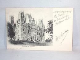 Environs De Ciney.  Château De Mianoye. - Ciney