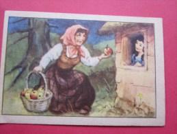 KOLLNFLOCKEN SIND VOLLKORNFLOCKEN GRIMMS MARCHEN  Bild 28 Série Allemande > Contes De Grimm Allemagne Chromo Image - Sonstige