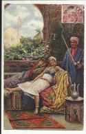 Riche Tunisienne , CPA ANIMEE , 1910 - Tunisie
