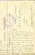 """VAUCLUSE - MORNAS - CACHET VIOLET 158e REGIMENT D'INFANTERIE 32e COMPAGNIE - CARTE MORNAS ROUTE NATIONALE - TEXTE """"JE SU - Postmark Collection (Covers)"""