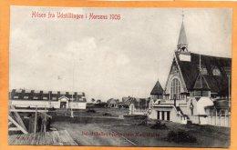 Hilsen Fra Udstillingen I Horsens 1905 Denmark Postcard - Danimarca