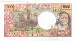 Polynésie Française / Tahiti - 1000 FCFP / M.051 / 2013 / Signatures: De Seze-Noyer-Besse - Neuf / Jamais Circulé - Papeete (Polynésie Française 1914-1985)