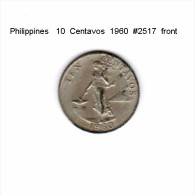 PHILIPPINES    10  CENTAVOS  1960  (KM # 188) - Philippinen