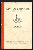 XVII     OLYMPIC GAMES  LONDON  1948.  COMITE ORGANISATEUR DE LA XIC OLYMPIADE  PROGRAM - Jeux Olympiques