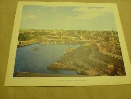 Année 1956  (27cm X 21cm)  SYDNEY Et Des Bateaux Dans Le Port     AUSTRALIE - Plaatsen