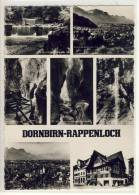 DORNBIRN - RAPPENLOCH,  Mehrbildkarte - Dornbirn