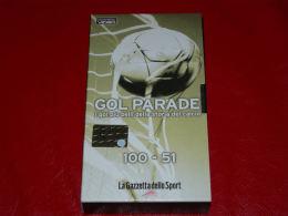 VHS-GOAL PARADE I Gol Più Belli Della Storia Del Calcio 100-51 - Sport
