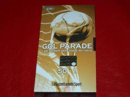 VHS-GOAL PARADE I Gol Più Belli Della Storia Del Calcio 50-1 - Sports