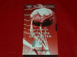 VHS-GOAL PARADE (Van Basten Batistuta Vieri) - Sports