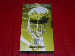 VHS-GOAL PARADE (Del Piero Mancini Zola) - Sport