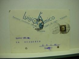 PESCARA  ---  LUIGI  D'AMICO  --- PASTICCERIA  - CONFETTERIA - Pescara