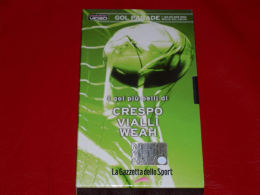 VHS-GOAL PARADE (Crespo Vialli Weah) - Sport