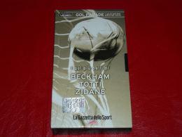 VHS-GOAL PARADE (Beckham Totti Zidane) - Sport