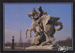 Cp , 75 , PARIS ,  Place De La Concorde , Mercure - Piazze