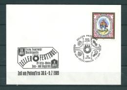OOSTERIJK, 01/07/1989 100 Jahre Feuerwehr Musikkapelle - VÖCKLABRUCK  (GA10451) - Firemen