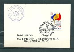 ROMANA, 13/09/1975 Centenarul Formatiei Civile De Pompiers - JIMBOLIA  (GA10520) - Firemen