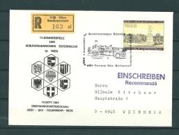 OOSTENRIJK, 19/09/1984 Sommerspiele Der Berufsfeuerwehren - WIEN  (GA10697) - Feuerwehr