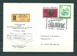OOSTENRIJK, 08/04/1983 Eroffnung Der Hauptfeuerwache - WIEN  (GA10733) - Sapeurs-Pompiers