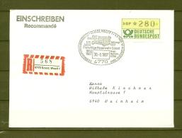 DUITSLAND, 30/05/1987 125 Jahre Freiwillige Feuerwehr - SOEST  (GA11358) - Feuerwehr