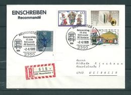 DUITSLAND, 02/06/1989 125 Jahre Festveranstaltung - NEUMÜNSTER  (GA11582) - Feuerwehr