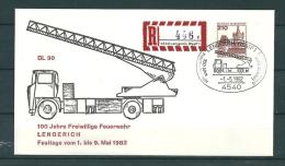 DUITSLAND, 01/05/1982 100 Jahre Freiwillige Feuerwehr - LENGERICH  (GA11831) - Brandweer