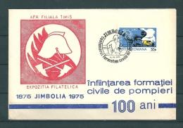 ROMANA, 13/09/1975 Expozitia Filatelica - JIMBOLIA  (GA11846) - Firemen