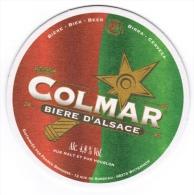 SOUS-BOCK COLMAR BIERE D'ALSACE DISTRIBUEE PAR FRANCE BOISSONS 12 RUE DU SUNDGAU 68274 WITTENHEIM - Sous-bocks