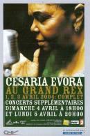 CESARIA EVORA Au Grand Rex - Artistes