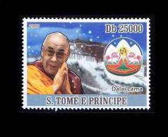 S. Tome E Principal MNH, Dalai Lama, Religion, Buddhism - Buddhism
