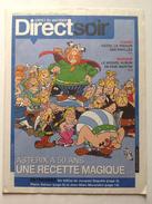 No PAYPAL !! : Uderzo & Goscinny Journal DirectSoir Avec Obélix Astérix Amis Hommage 50 Ans , Pub Publicitaire Éo 2009 - Livres, BD, Revues