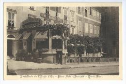 NICE  ( 06 )  - Hostellerie De L´ Aigle D´ Or   - Place Saint - François  , Vieux Nice - Cafés, Hotels, Restaurants