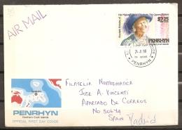 FAMILIAS REALES - PENRHYN 1990 - Yvert #362 - SPD - Familias Reales