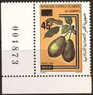 COMORES -  FRUITS  OVP. - AVOCADO - MNH ** - 1981 - Fruits