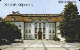 GERMANY A35/95 Berlin - Schloß Köpenick - Castle - A + AD-Serie : Pubblicitarie Della Telecom Tedesca AG