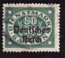 BAVIERE  -  Service N°  68-  Oblitéré - Bavière