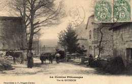 19 - La Correze Pittoresque - GOURDON - Attelage De Boeuf - Carte Rare - Autres Communes