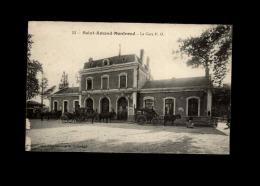 18 - SAINT-AMAND-MONTROND - Gare Chemin De Fer PO - Saint-Amand-Montrond