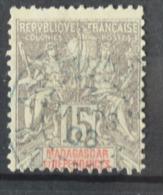 P 251 ++ MADAGASCAR 1902  CANCELLED USED - Madagaskar (1960-...)