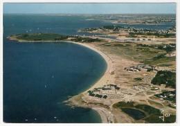 Arzon - Port Navalo, La Plage De Kerjouanno Et Le Petit Mont, 1977, Jos V. 1221 - Arzon